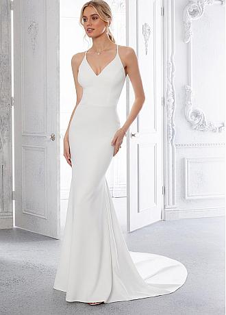 Fascinating Tulle &Four Way Spandex Halter Neckline See-through Bodice Mermaid Wedding Dress With Lace Appliques